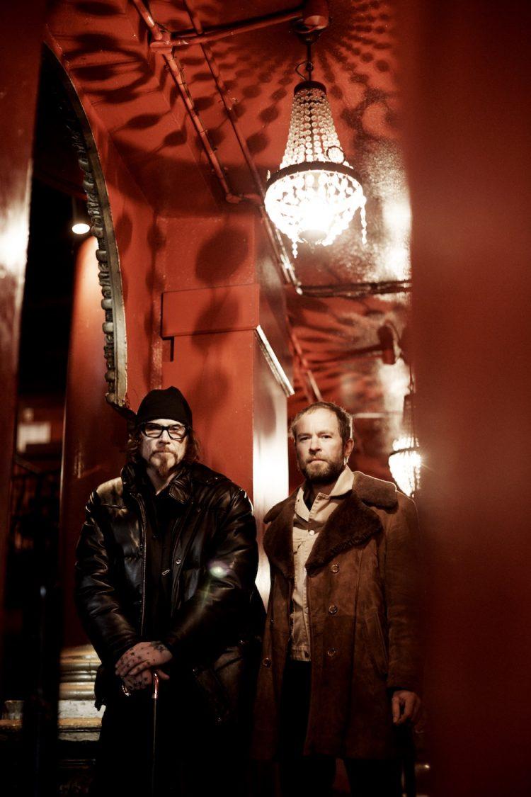 Mark Lanegan & Duke Garwood press photo